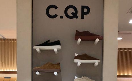 伊勢丹メンズで、C.QPのポップアップショップを開催